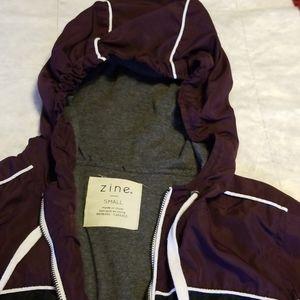 Zine small womens lined lightweight jacket